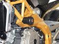 metisse ダンパー内蔵クラッシュパッド X-Pad Aprilia SL 750 Shiver / SMV 750 Dorsoduro