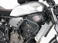ヘプコ&ベッカー 正規品 エンジンガード ダークグレー Yamaha MT-07 / XSR700