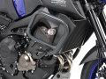 ヘプコ&ベッカー 正規品 エンジンガード クラッシュパット付属 ダークグレー Yamaha MT-09 / XSR900
