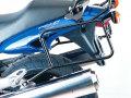 ヘプコ&ベッカー 正規品 HONDA X11 サイドケースホルダー(キャリア) ブラック