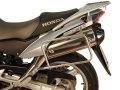 ヘプコ&ベッカー 正規品 HONDA XLV1000 Varadero ('07-) サイドケースホルダー(キャリア) (Lock it system) ブラック