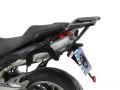 ヘプコ&ベッカー 正規品 トップケースホルダー(キャリア) アルミラック ブラック Triumph Tiger1050 Sport