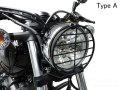 ヘプコ&ベッカー 正規品 ヤマハ Bolt / ボルト ヘッドライトガード Type A