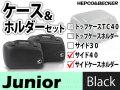 ヘプコ&ベッカー サイドケース ホルダーセット Junior 40 ブラック