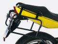 ヘプコ&ベッカー 正規品 サイドケースホルダー(キャリア) (Lock it system) ブラック Kawasaki ER-6n/ER-6f ('09-'11)