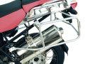 ヘプコ&ベッカー 正規品 サイドケースホルダー(キャリア) シルバー BMW R1200GS Adventure