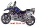 ピンバッチ BMW R1200GS (08-)