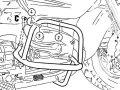 ヘプコ&ベッカー 正規品 エンジンガード R1200CL クローム