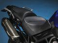 Sargent シート Triumph Tiger800/Tiger800XC EUレギュラーフロント&リアシート パイピング:ブラック