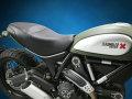Sargent シート Ducati Scrambler('15-) 1ピースレギュラーシート パイピング:ブラック
