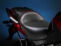 Sargent シート Kawasaki Versys レギュラーシート パイピング:ブラック