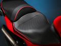 Sargent シート Ducati Multistrada 1200 EUレギュラーフロントシート パイピング:レッド