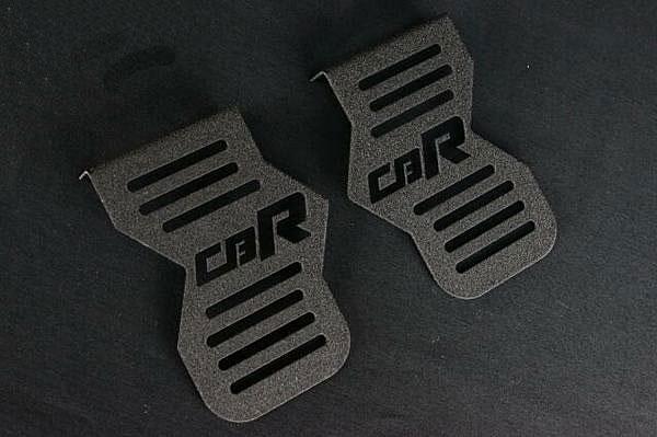 CBR400F ロゴイリ ちぢみ塗装 キャブサイド カバー(ブラック)