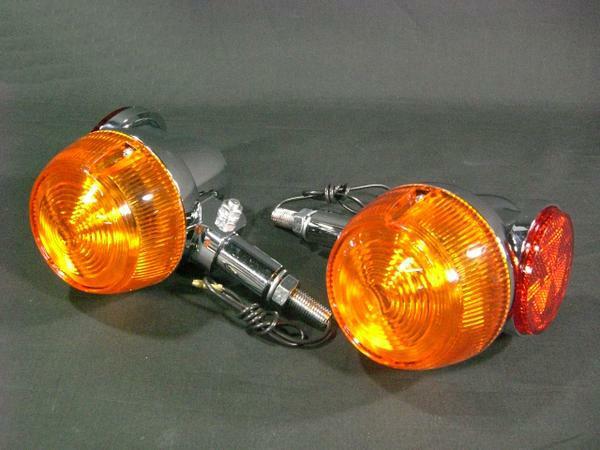 GT380 オレンジ ウィンカー フロント 2個セット