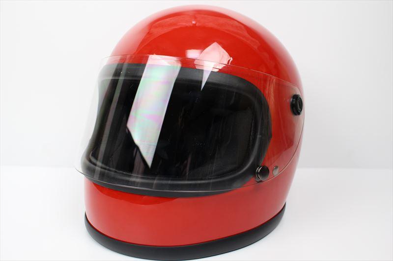 ビンテージフルフェイスヘルメット 70S レッド