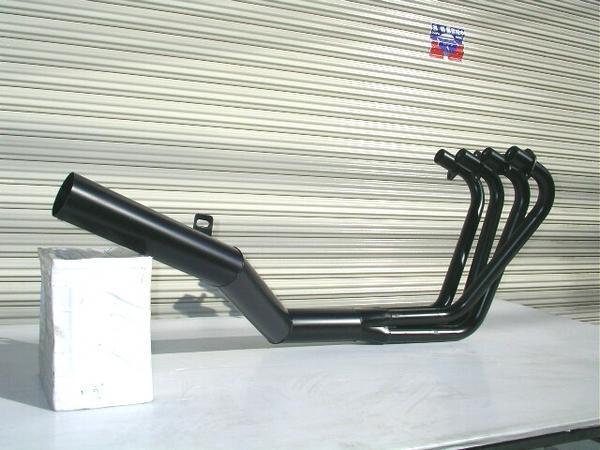 GSX400 インパルス GK79A ファクトリーショート管 ブラック