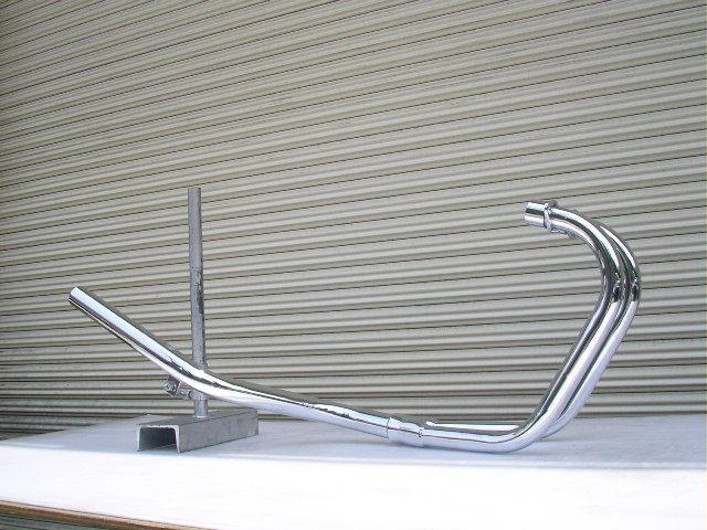 GSX250E ザリ ファクトリーミドル管 50.8π メッキ