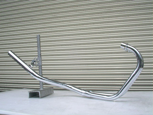GSX250E ゴキ ファクトリースリム管 メッキ
