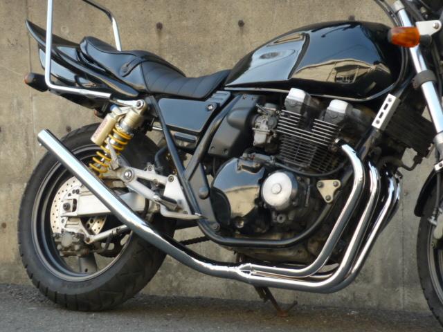 XJR400 4HM ファクトリーミドル管 50.8π メッキ