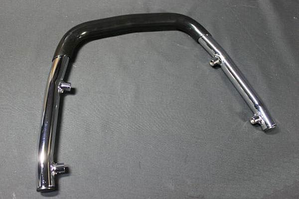GSX250/400Eザリ ゴム付きタンデムバー(黒)