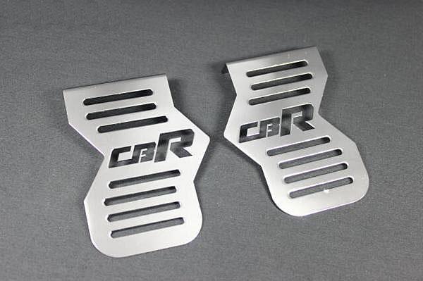 CBR400F ロゴイリ メッキ キャブサイド カバー(CBRロゴ)