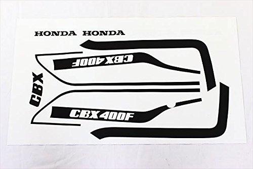 CBX400F 1型 純正タイプ ラインステッカーセット(赤/白用)