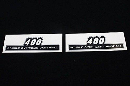 ゼファー400/χ サイドカバー ステッカー