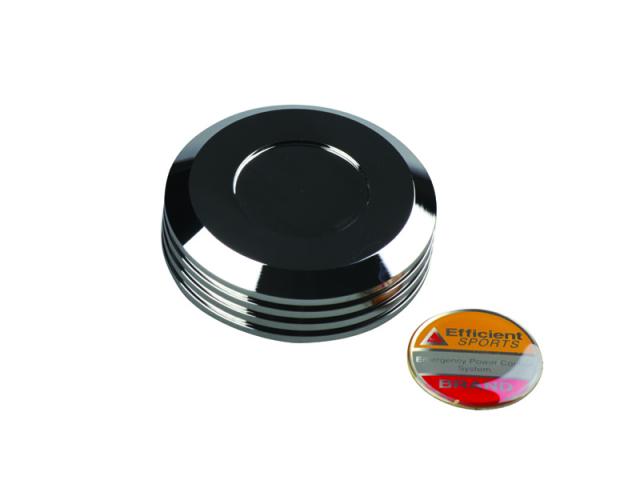 NISSIN ブレーキマスターシリンダー用 タンクキャップ メッキ