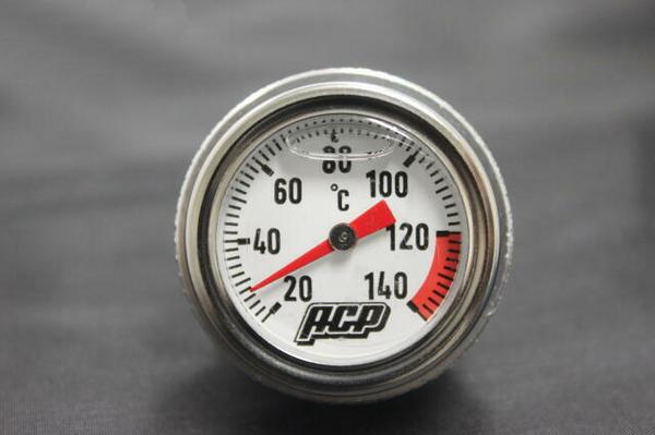 Z400GP アナログ油温計  シルバー