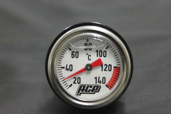 Z400GP アナログ油温計  ブラック
