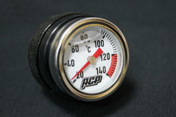 GSX400E ゴキ アナログ油温計  ブラック