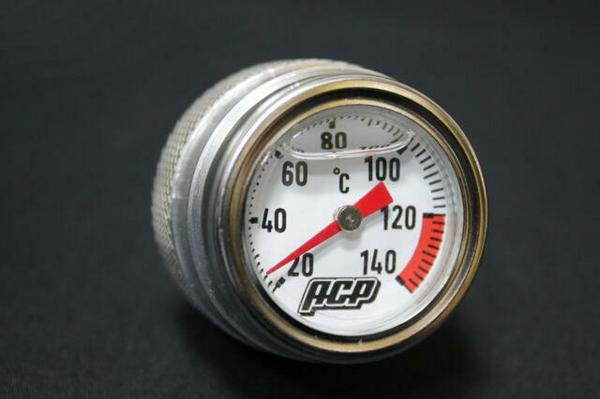 GSX400E ゴキ アナログ油温計  シルバー