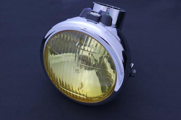 APE50 純正タイプイエローヘッドライト エイプ50