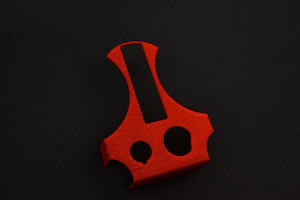 GS400  チヂミ塗装 メーターパネル 赤