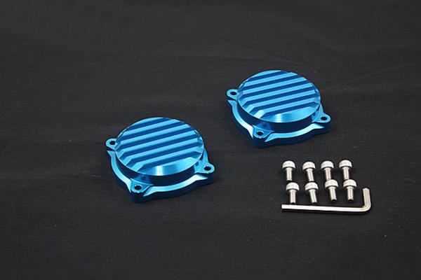 ゼファー400/χ ビレット キャブレター トップ カバー ブルー