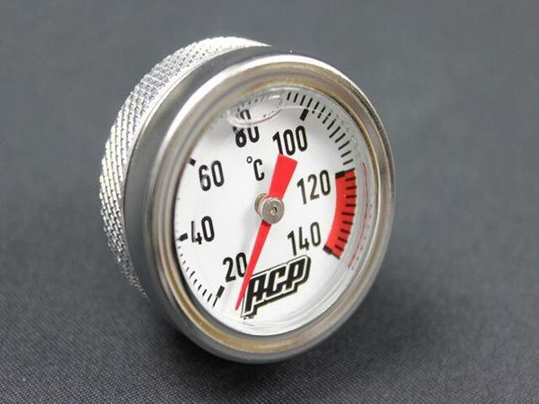 XJ400 アナログ油温計  シルバー