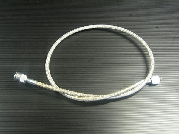 GS400 ステンメッシュ タコメーターケーブル
