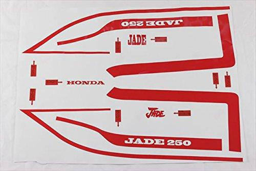 JADE250 CBX 1型タイプ 青白ラインステッカーセット