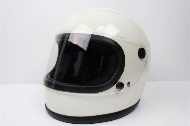 ビンテージフルフェイスヘルメット 70S ホワイト