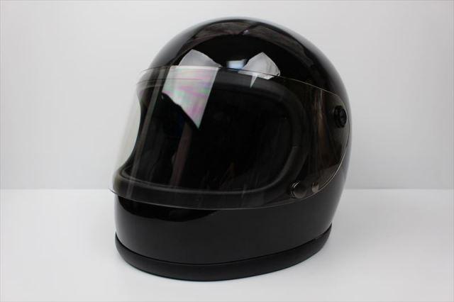 ビンテージフルフェイスヘルメット 70S ブラック