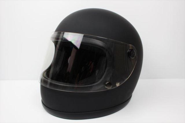 ビンテージフルフェイスヘルメット 70S マットブラック
