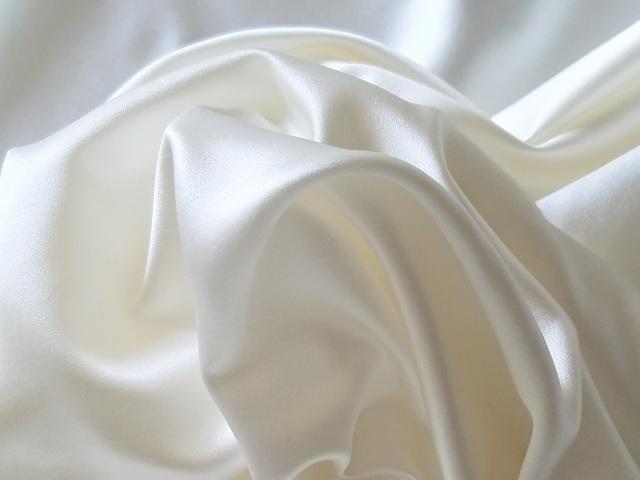 ドレス生地 シルクサテン