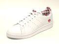 【adidas】スタンスミス(STAN SMITH) / フットウェアホワイト×フットウェアホワイト×スカーレット /  FY2839