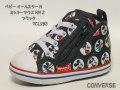 コンバース☆ベビースニーカー【CONVERSE】ベビー オールスター N ミッキーマウス HM Z / ブラック / 7CL283