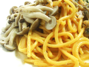ウニとしめじのスパゲッティセット
