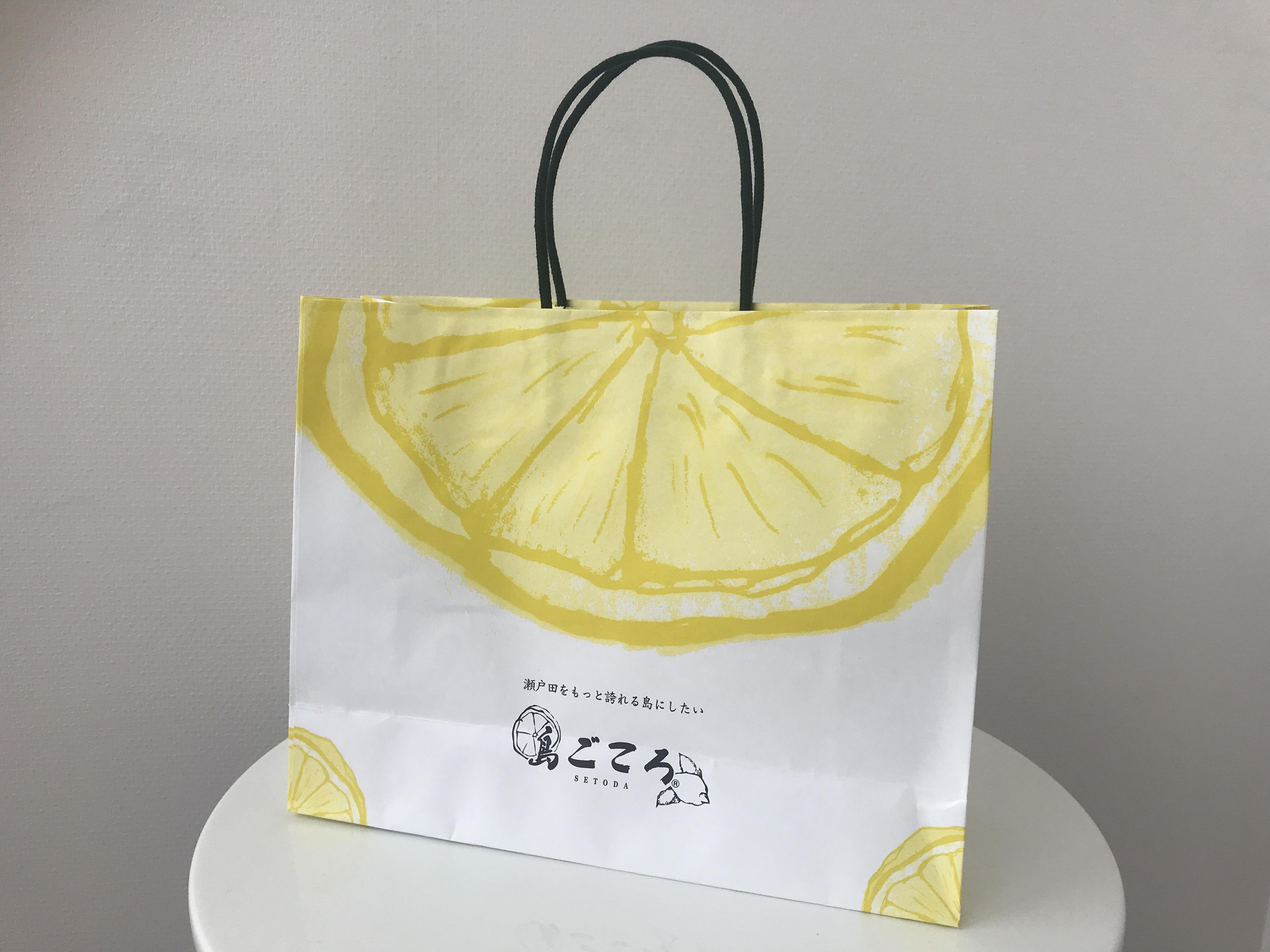 【大】島ごころオリジナル紙袋*コンパクト便商品への添付不可*