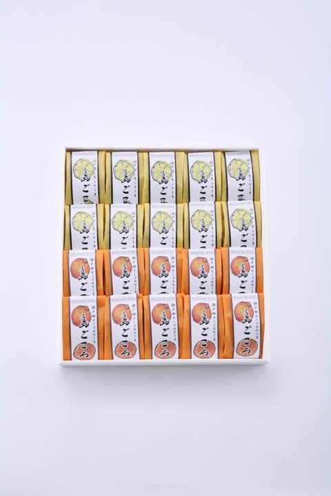 電話注文用/島ごころ20個入包装(レモンケーキ10・ネーブルケーキ10)