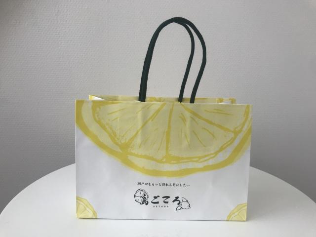 【小】島ごころオリジナル紙袋*コンパクト便商品への添付不可*