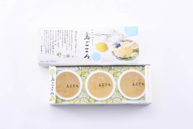 【業務用30箱セット】アロマゼリー(レモン)3個入