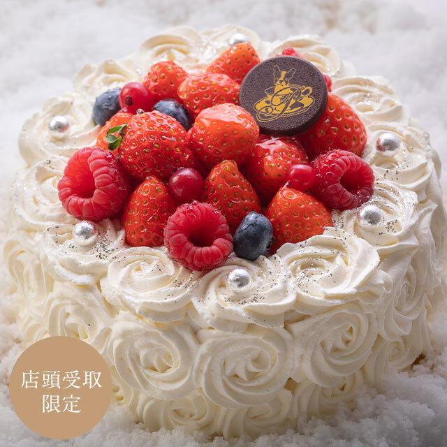 【店頭受取】クリスマスケーキ ノエルホワイト(大)